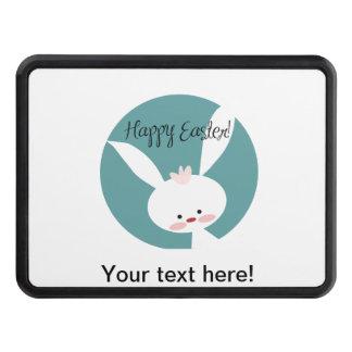 Dibujo animado feliz del conejito de pascua