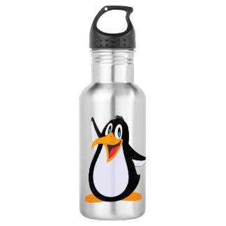 Dibujo animado feliz del pingüino