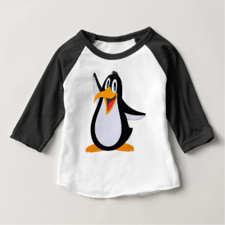 Dibujo animado feliz del pingüino t shirt