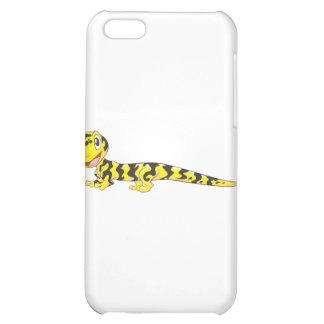 Dibujo animado feliz del Salamander de tigre