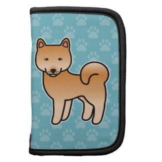 Dibujo animado finlandés del perro de Pomerania Organizadores