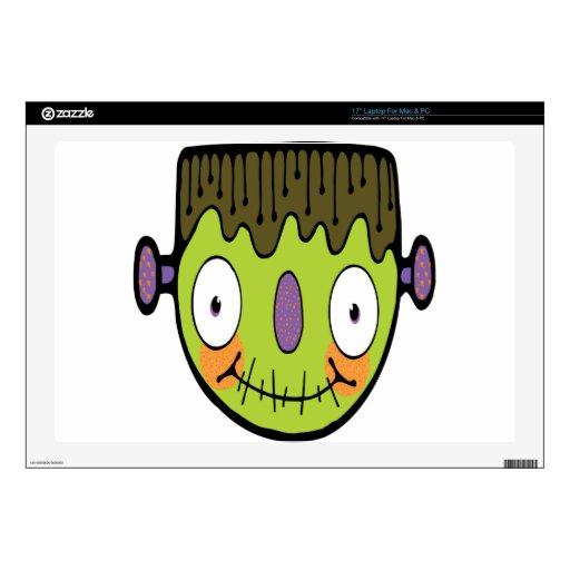 Dibujo animado Frankenstein Skins Para 43,2cm Portátiles