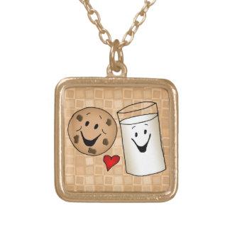 Dibujo animado fresco de las galletas y de los ami pendiente personalizado