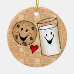 Dibujo animado fresco de las galletas y de los ami adornos