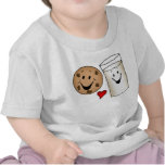 Dibujo animado fresco de las galletas y de los ami camisetas