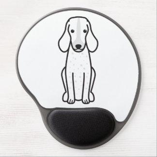 Dibujo animado Grand Bleu de Gascogne Dog Alfombrillas De Raton Con Gel