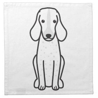 Dibujo animado Grand Bleu de Gascogne Dog Servilleta
