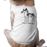 Dibujo animado great dane ropa para mascota