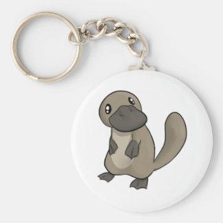 Dibujo animado gris gris Platypus