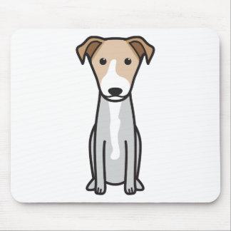 Dibujo animado hawaiano del perro del Poi Alfombrilla De Raton