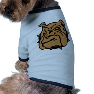 Dibujo animado inglés del dogo camisa de mascota