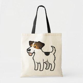 Dibujo animado Jack Russell Terrier Bolsas De Mano