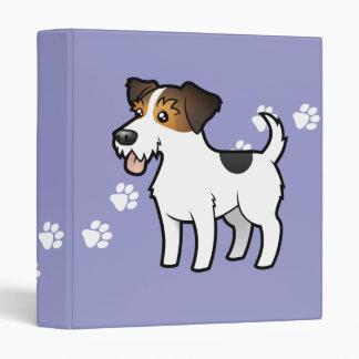 Dibujo animado Jack Russell Terrier