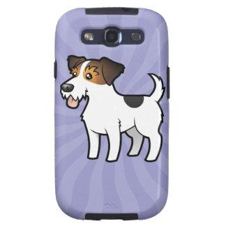 Dibujo animado Jack Russell Terrier Galaxy S3 Carcasa