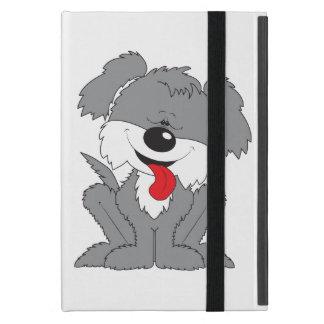 Dibujo animado lanudo lindo del perrito iPad mini cárcasas