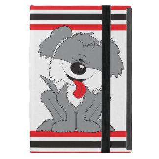 Dibujo animado lanudo lindo del perrito iPad mini cobertura