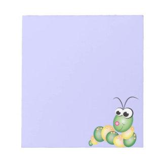 Dibujo animado lindo Caterpillar Blocs