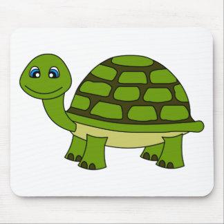 Dibujo animado lindo de la tortuga tapetes de raton
