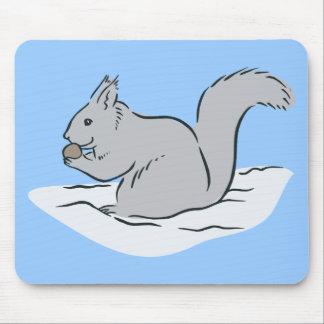 Dibujo animado lindo de las marmotas de los Chipmu Alfombrillas De Ratones
