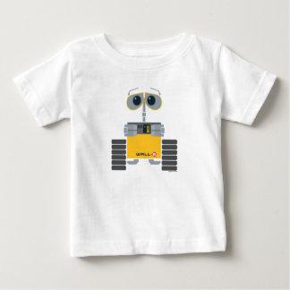 Dibujo animado lindo de WALL-E Playera De Bebé