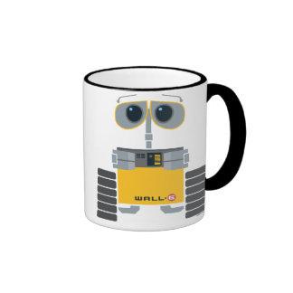 Dibujo animado lindo de WALL-E Taza De Dos Colores