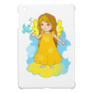 Dibujo animado lindo del ángel