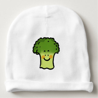 dibujo animado lindo del bróculi del veggie gorrito para bebe