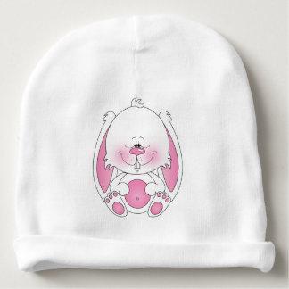 Dibujo animado lindo del conejito gorrito para bebe