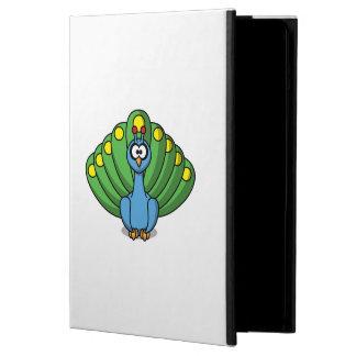 Dibujo animado lindo del pavo real