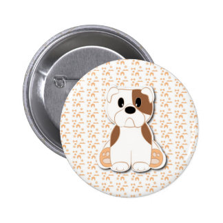 Dibujo animado lindo del perrito del dogo pins