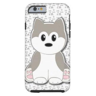 Dibujo animado lindo del perrito funda de iPhone 6 tough