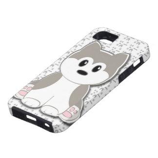 Dibujo animado lindo del perrito iPhone 5 carcasa