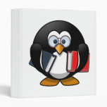 Dibujo animado lindo del pingüino del ratón de