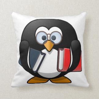Dibujo animado lindo del pingüino del ratón de cojines