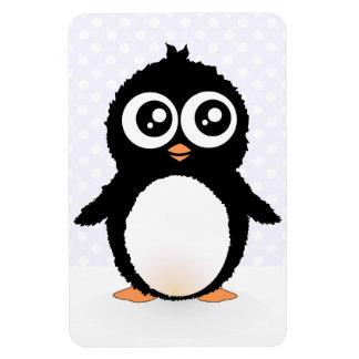 Dibujo animado lindo del pingüino imanes