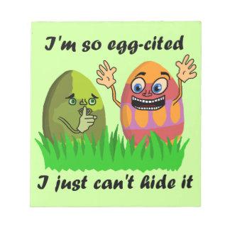 Dibujo animado lindo divertido de los huevos de blocs
