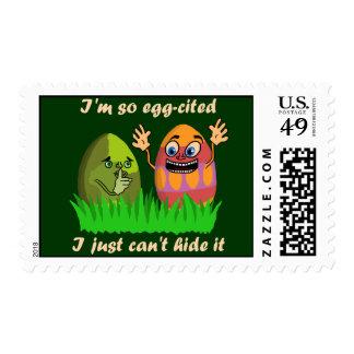 Dibujo animado lindo divertido de los huevos de sellos