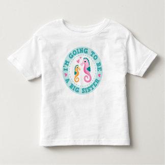 Dibujo animado lindo Im del seahorse que va a ser Camisetas