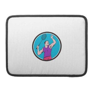 Dibujo animado llamativo del círculo de la estafa fundas macbook pro