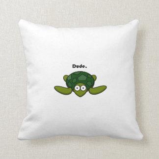 Dibujo animado maravilloso del tipo de la tortuga almohadas