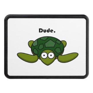 Dibujo animado maravilloso del tipo de la tortuga tapa de tráiler