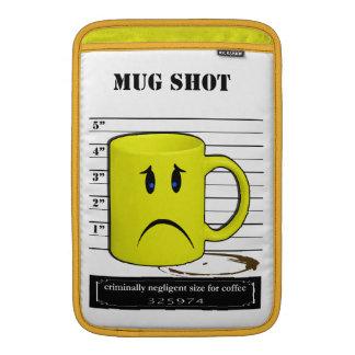 Dibujo animado Meme de la taza de la taza de café  Funda MacBook