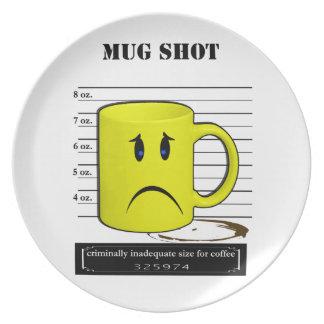 Dibujo animado Meme de la taza de la taza de café  Platos