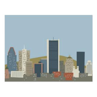 Dibujo animado Montreal Postal