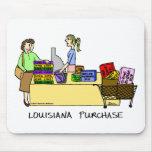 Dibujo animado Mousepad de la compra de Luisiana Tapete De Ratones
