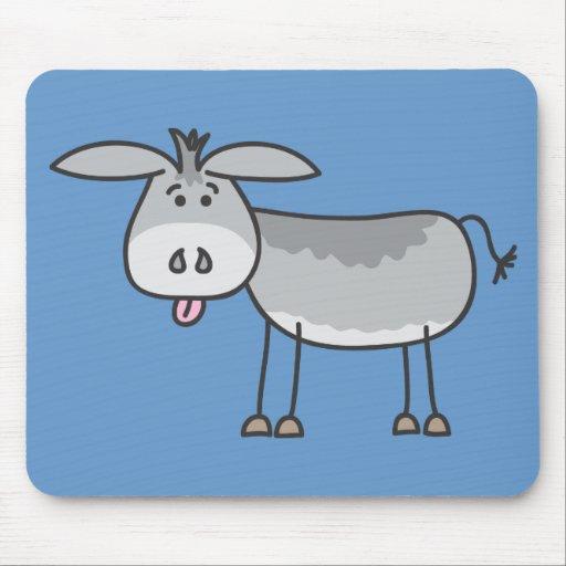 Dibujo animado Mousepad del burro de Horatio Alfombrillas De Raton