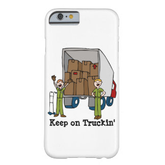 Dibujo animado móvil del camión funda barely there iPhone 6