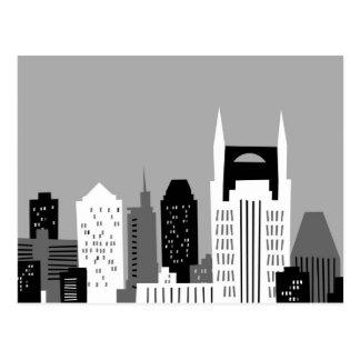 Dibujo animado Nashville Postales