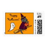 Dibujo animado negro 1 de Halloween Labrador Envio