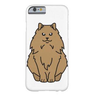 Dibujo animado noruego del gato del bosque funda de iPhone 6 barely there